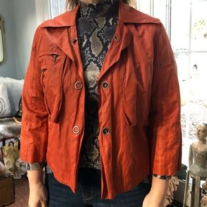 🍂 CHICOS CROPPED SWING JACKET 🍂